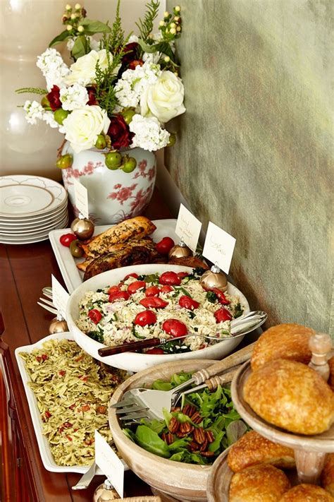 casual christmas eve buffet ideas how to set up a buffet on a dining table or sideboard how to decorate