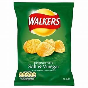Walkers Crisps - Salt & Vinegar (32.5g) | eBay