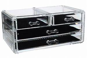 Rangement Maquillage Tiroir : rangement plastique tiroirs pas cher ~ Teatrodelosmanantiales.com Idées de Décoration