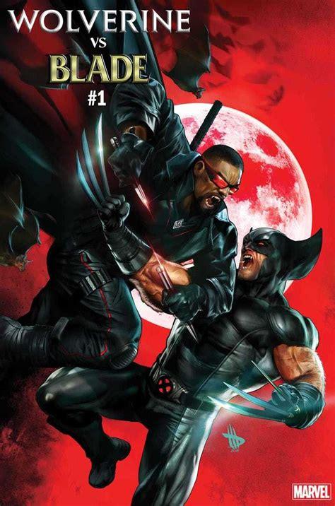 Marvel anuncia HQ One-Shot de Wolverine vs. Blade!