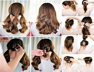 Easy Hairstyles For Short Hair To Do At Home Immodell net