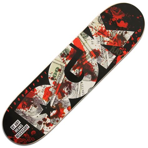 Zero Blood Deck by Dgk Bloodsport Skateboard Deck 8 25 Skateboards From