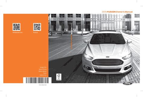 ford fusion titanium owners manual owners manual