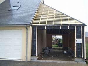 Garage Ossature Bois : ossature bois ~ Melissatoandfro.com Idées de Décoration