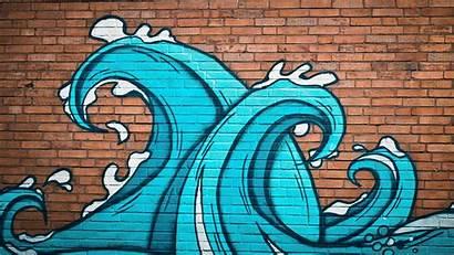 Graffiti Background Wallpapers Street Desktop Mobile Ocean