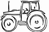 Tractor Coloring Pages Tractors Lawn Farm Mower John Deere Clipart Cartoon Drawing Printable Wagon Drawings Cliparts Trailer Res Farmall Clip sketch template