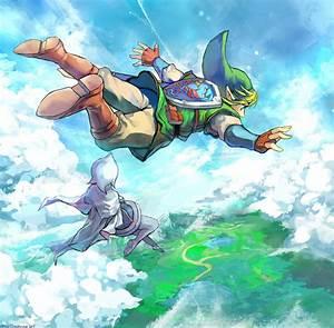 Fanart zelda skyward sword link nintendo video games ...