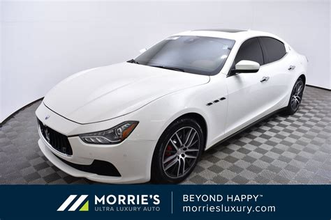 Ghibli Preowned by Pre Owned 2017 Maserati Ghibli S Q4 4d Sedan In Golden