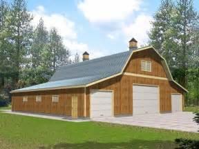 Barn Style Garage Shop Plans