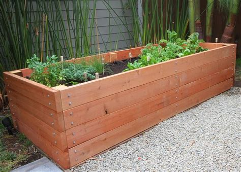 large planter box planters awesome large planter boxes redwood garden