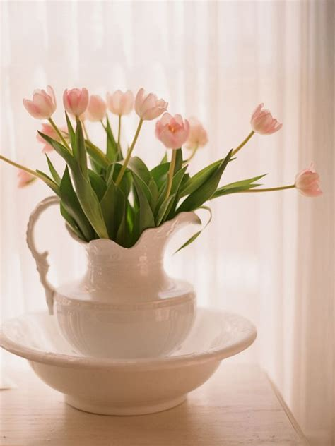 tulip flower centerpieces living room small