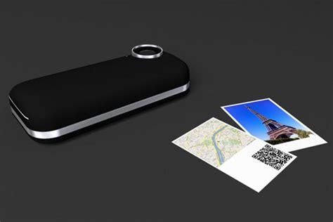polaroid iphone printer iphone 4 with polaroid printer gadgetsin