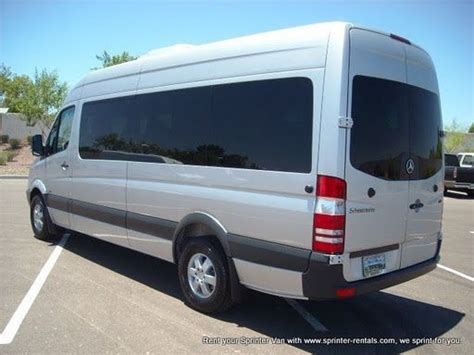 These Exciting Multi-seat Passenger Van Rentals Are