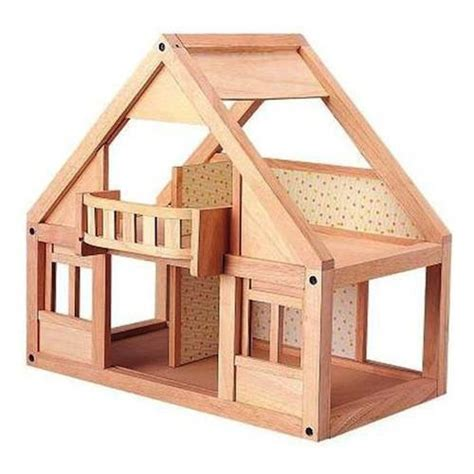 wooden doll house plan toys   dollhouse classic