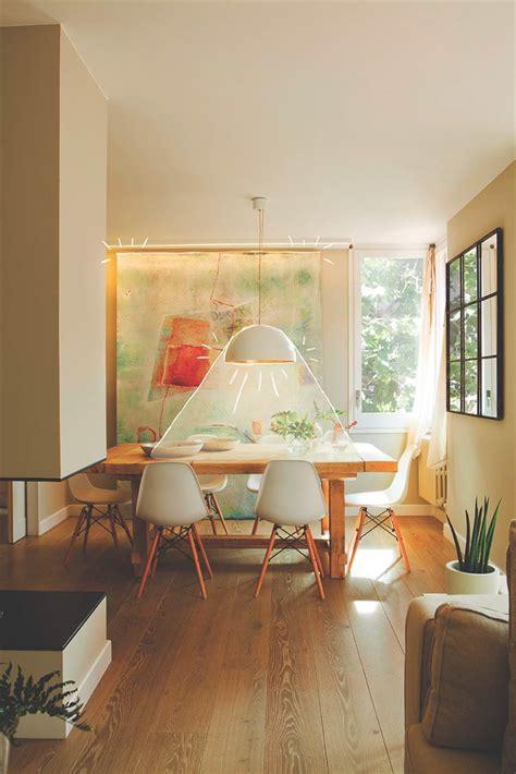 lampara comedor  claves  iluminar bien el salon