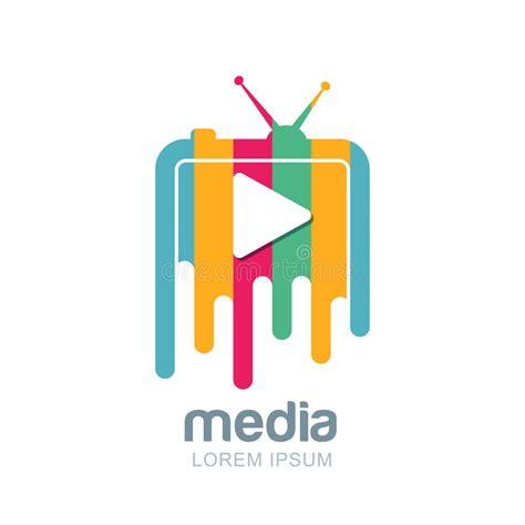 Tv Vector Template by Broadcast Logo Design Media And Tv News Logo Design