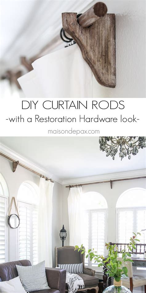 restoration hardware curtain rod brackets 1000 ideas about curtain brackets on shelf