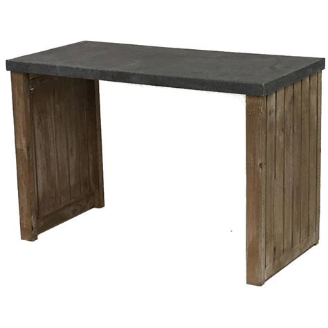 table console cuisine console table drapier bois zinc bureau cuisine salon