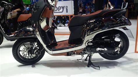 Modifikasi Honda Scoopy 2018 modifikasi motor scoopy 2018 warna hitam siteandsites co