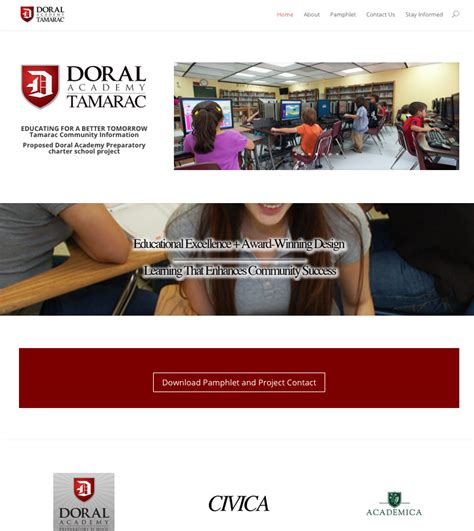 doral academy charter school launches tamarac website tamarac talk