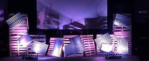 Industrial Yard Church Stage Design Ideas