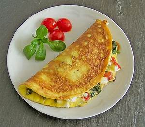 Omelette Mit Gemüse : blattspinat tomaten rezepte ~ Lizthompson.info Haus und Dekorationen