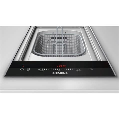 mitigeur cuisine noir avec douchette friteuse domino siemens et375fab1e acier inox 30 cm fab