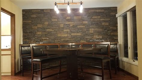 dining room accent wall ideas designs  gerry genstone
