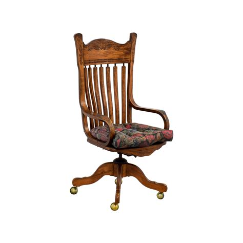 wooden desk chair 47 wooden desk chair on casters chairs