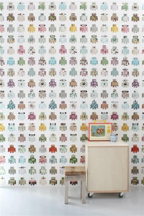 chambre de bébé vintage papier peint enfant nos coups de coeur pour sa chambre