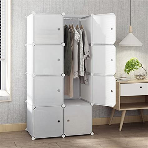 Wardrobe Cabinet For Hanging Clothes by Tespo Portable Closet For Hanging Clothes Armoire