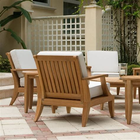 amazing outdoor teak chairs cleaning modern teak outdoor