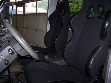 siege semi bacquet equipement installation de sièges semi bacquets sur kzj70