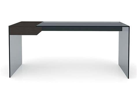 10surdix bureau air desk w 140 65 cm verre transparent 10surdix