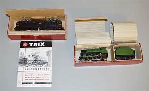 Oo Gauge  2 Trix Locomotives Including A 2 Rail   Overhead