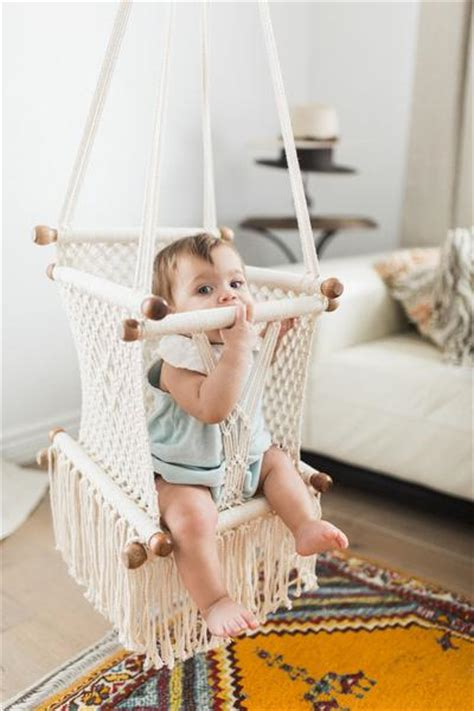 Hammocks For Babies by Macrame Hammock Baby Swing Chair Handmade In Nicaragua