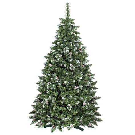 Kiefer Als Weihnachtsbaum by 120cm K 252 Nstlicher Weihnachtsbaum Kiefer Mit Schnee
