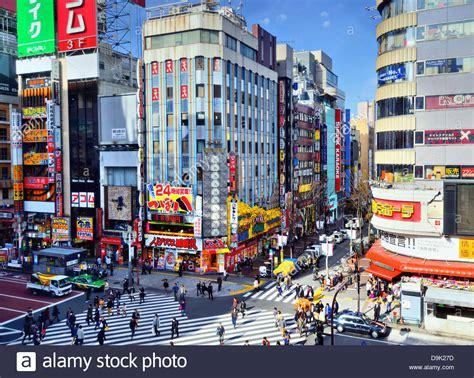 Urban Landscape Of Shinjuku, Tokyo, Japan Stock Photo