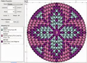 Round Peyote Stitch Bead Patterns
