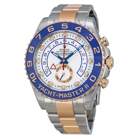 Yacht Master 2 Price by Rolex Yacht Master Ii White Stainless Steel And 18k
