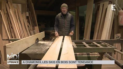 le en bois flotté made in 192 chamonix les skis en bois sont tendance