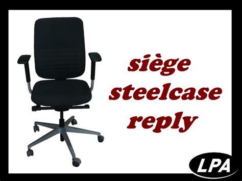 siege steelcase siège steelcase reply fauteuil mobilier de bureau lpa