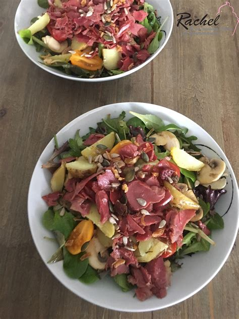 cuisine etc salade de gésiers légère cuisine