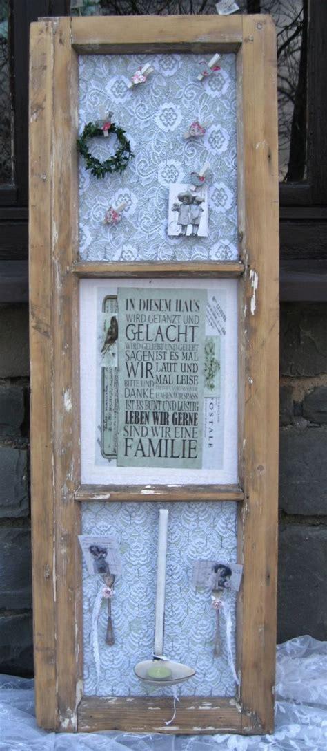 Alte Fensterrahmen Gestalten by Die 25 Besten Ideen Zu Fenster Dekorieren Auf