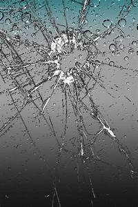 edojic: cracked screen wallpaper