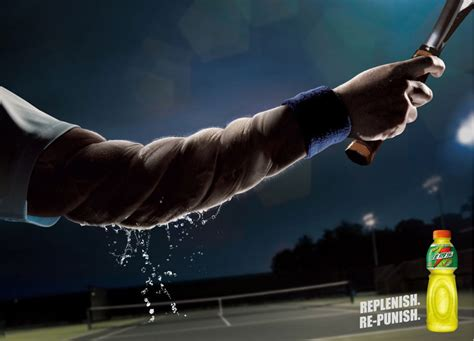 Replenish. Re-punish Print Advertisement By Ddb