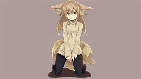 Fox Anime Wallpaper - anime anime fox kitsunemimi original