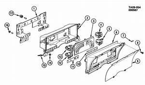 Chevrolet S10 Case  Instrument Cluster