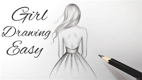 collections beginner girl drawings easy step