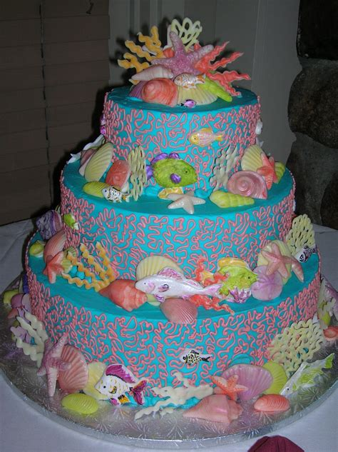 themed cakes veronica s sweetcakes beach and nautical cakes